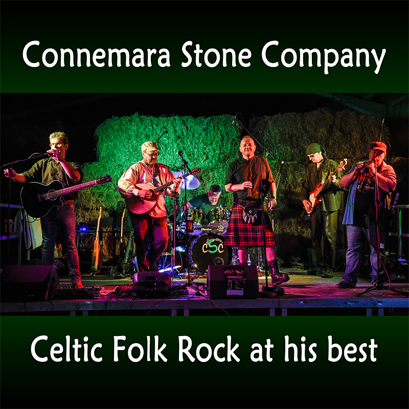 Irish Folk, Celtic Rock, Connemara Stone Company