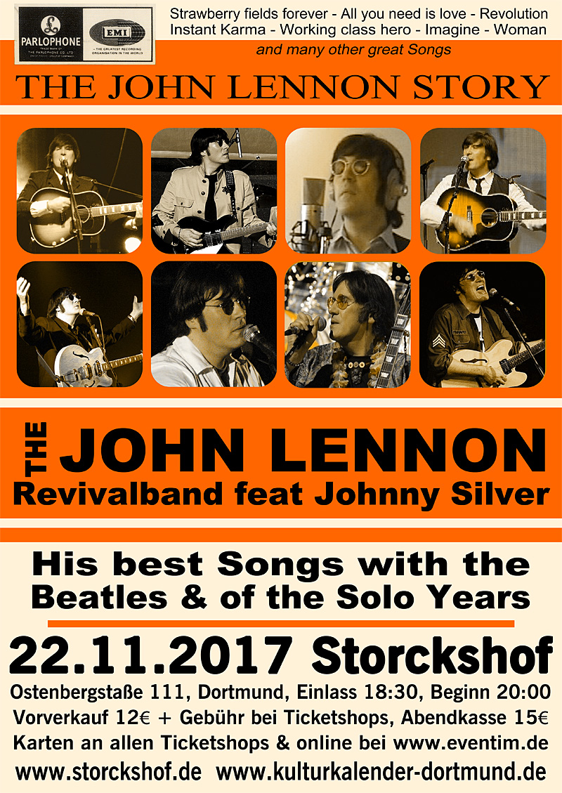 John Lennon Beatles - Johnny Silver & Band