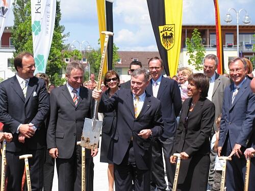 Besuch von Bundespräsident Horst Köhler 2006 (c) Stefanie Saam