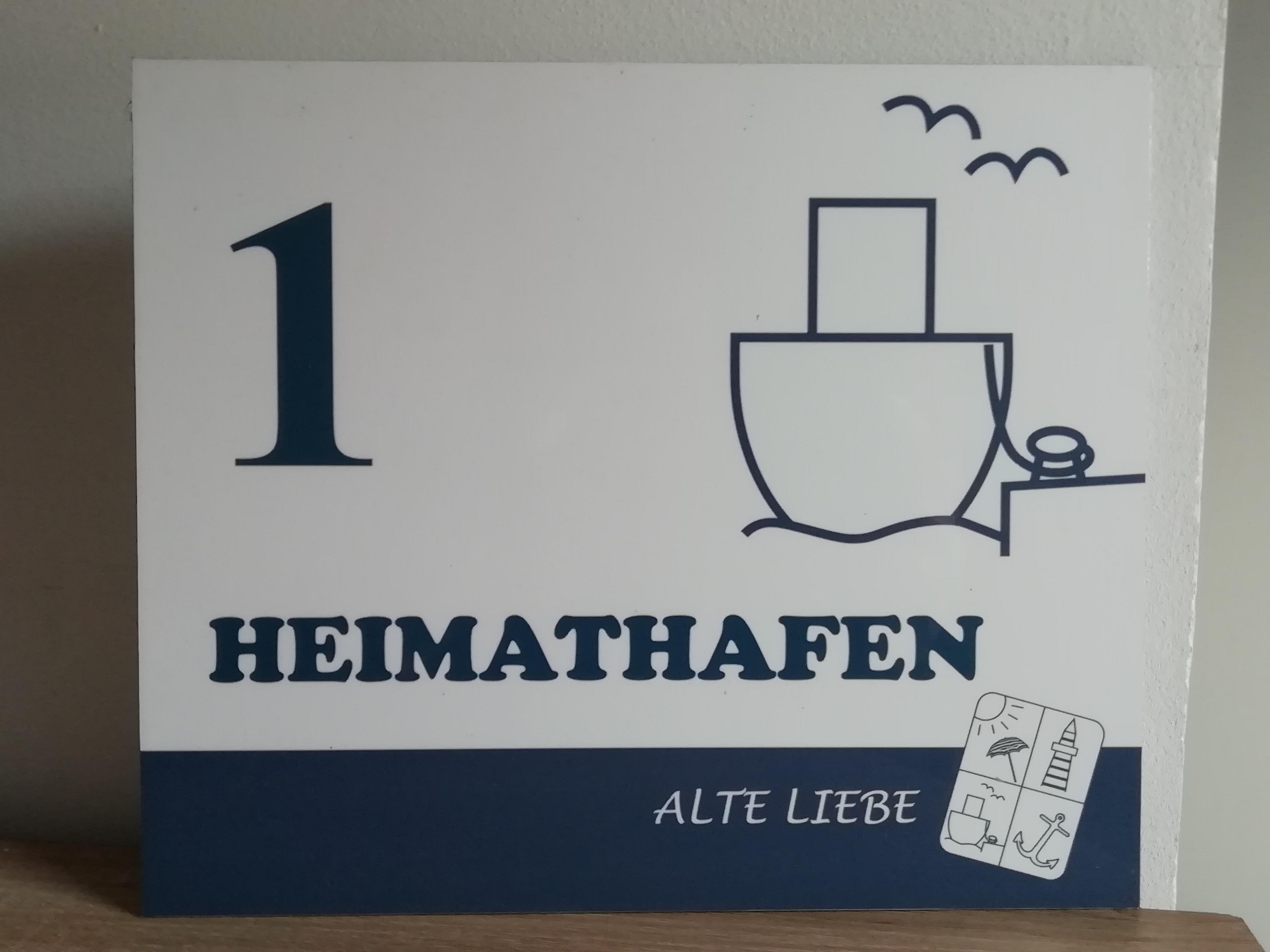 """Willkommen in der Wohnung """"Heimathafen"""""""
