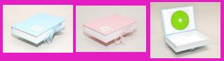 Baby-Box für Daten-CD und Fotos bis zur Größe 13x18 cm