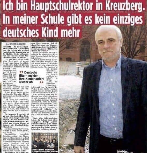 Kein deutsches Kind.