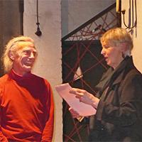 Li: Leiter des GARN-Theaters, Adolfo Assor