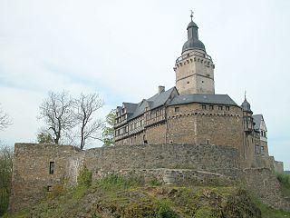 Burg Falkenstein im Harz. Urheberschaft: Benutzer:Brunswyk., CC BY-SA 3.0 DE <https://creativecommons.org/licenses/by-sa/3.0/de/deed.en>, via Wikimedia Commons
