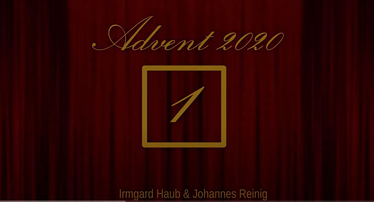 Adventskalender 2020 Tag 1
