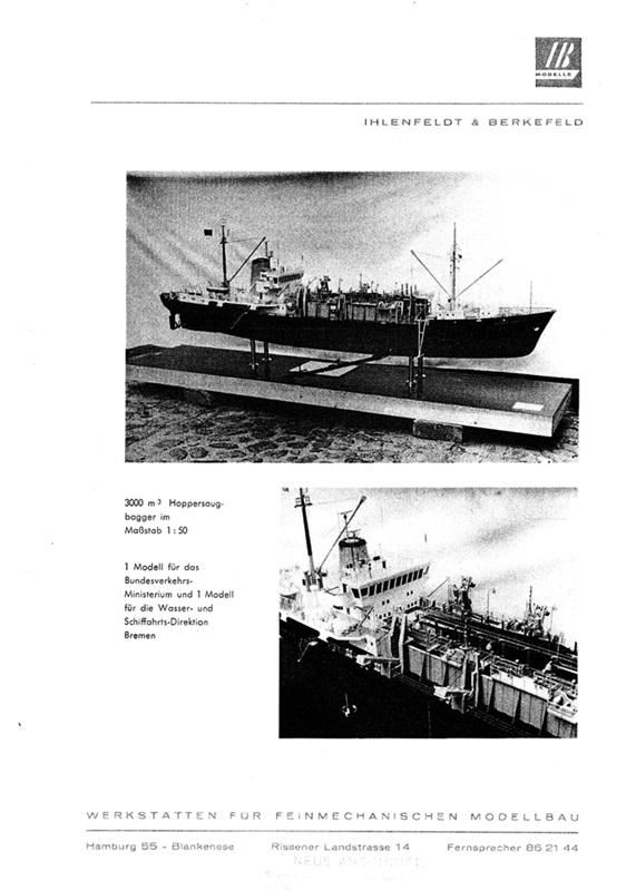 Auszug aus Image Broschüre I&B Modellbau 1960er Jahre (mit freundlicher Genehmigung des Herausgebers)