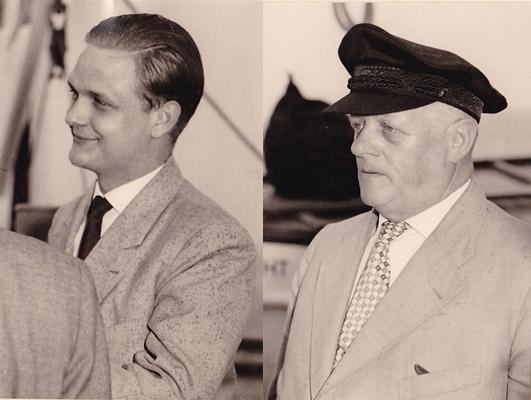 Konsul J.-H. Kremer und Max Kremer - ca. 1965