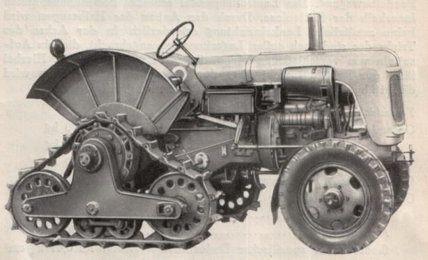 RS14/30 Favorit mit Anbauhalbraupe