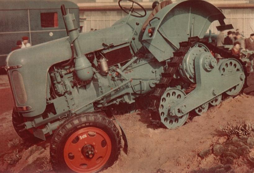 RS14/30 mit Anbauhalbraupe - Foto von Horst Hintersdorf