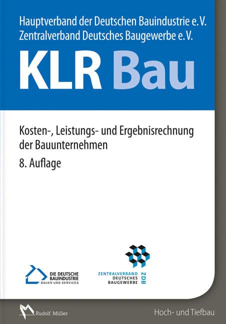 """Buch """"Kosten-, Leistungs- und Ergebnisrechnung der Bauunternehmen"""""""