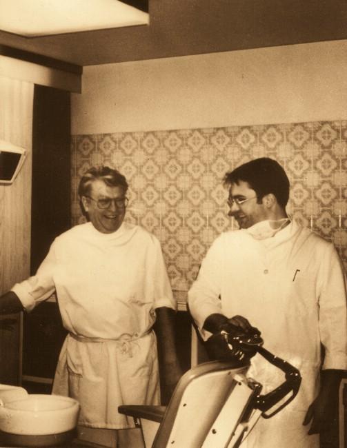 Albert und Michael Schnauffer 1994