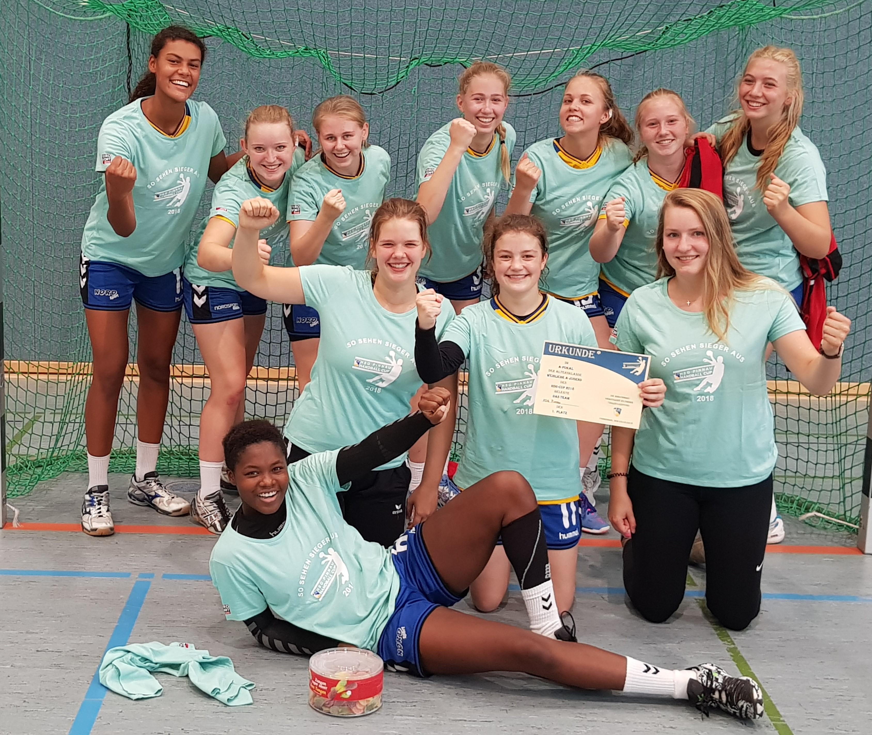 Sieger HSG Pinnau Cup 2018 - weibl. A-Jugend: HSG Pinnau