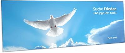 Lesezeichen Jahreslosung 2019 Such Frieden und jage ihm nach