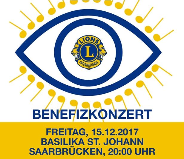 Logo Benefizkonzert der Lions für die Aktion Augenkinder