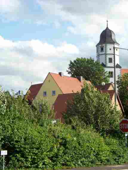 Die St. Nikolaus-Kirche in Winterhausen