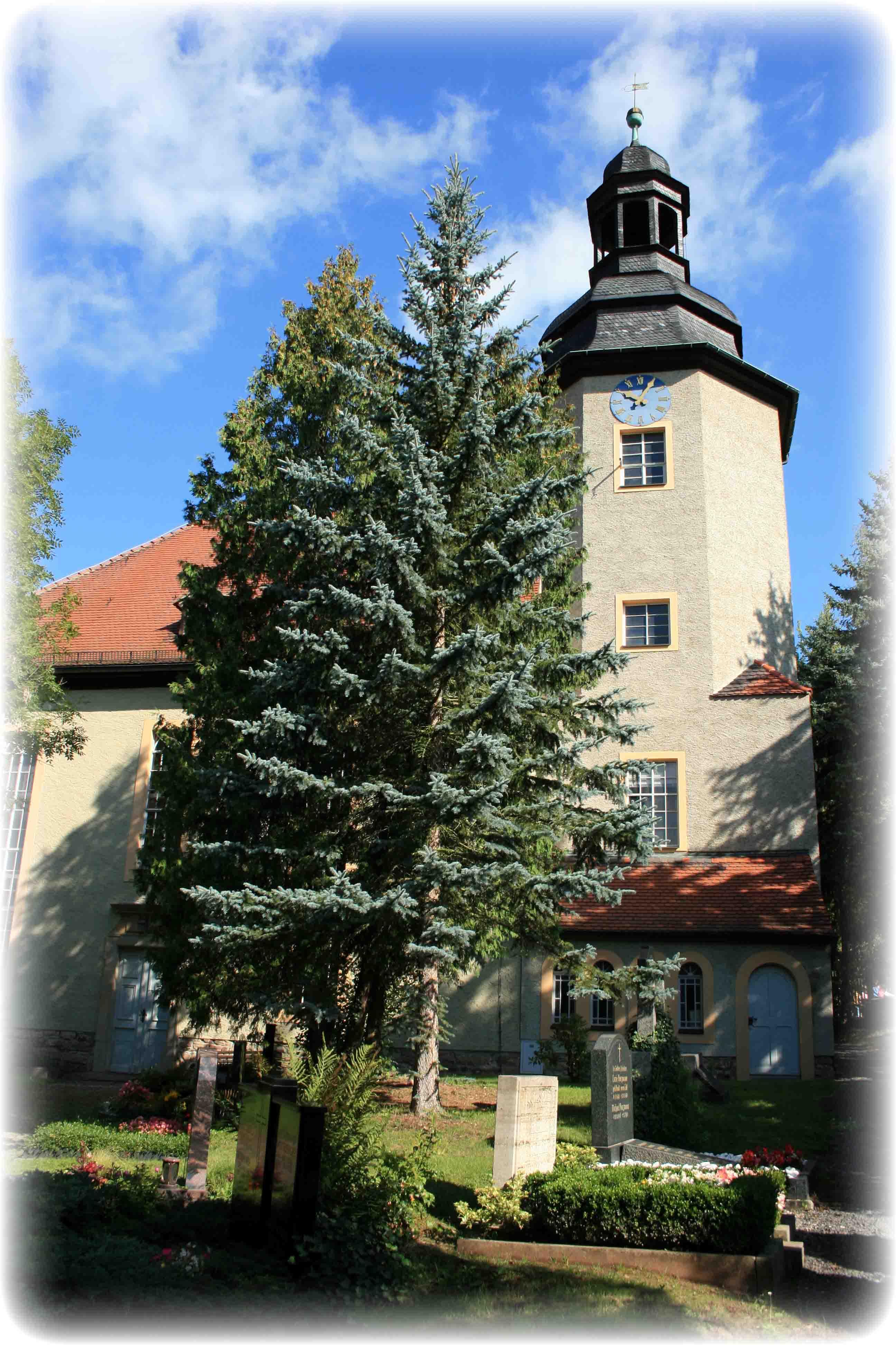Kirche von Gera-Frankenthal