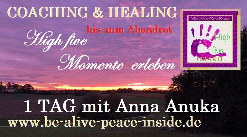 bis zum Abendrot in Vilsbiburg.. einen Tag erleben mit Anna Anuka Sabine Lienhard im Einzelcoaching jetzt bis 31.10.2019 zum Vorzugspreis www.be-alive-peace-insode.de