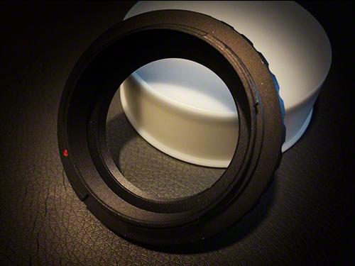 TS-Optics T2-Adapterring für Canon EOS Kameras