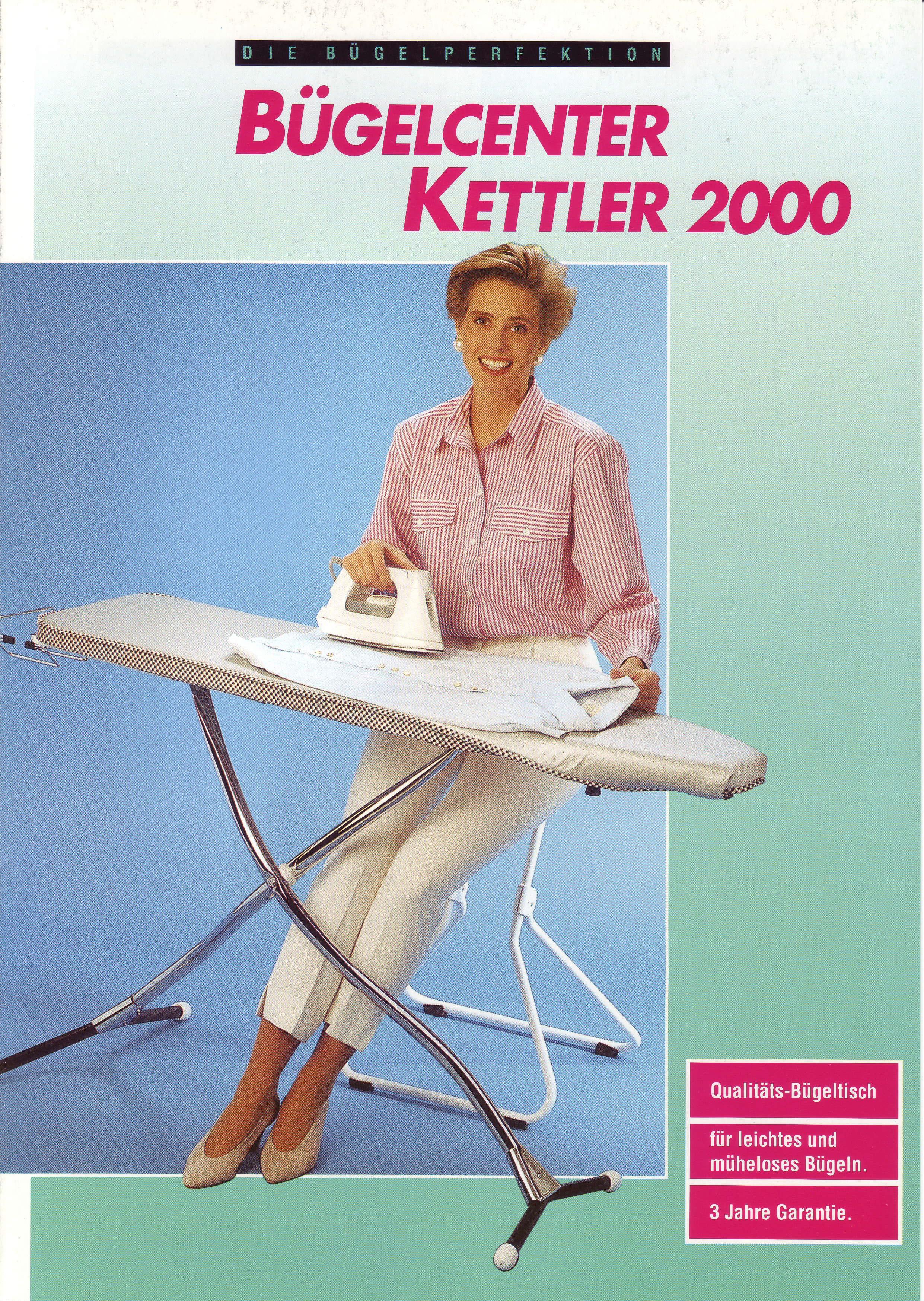 Streckmetallbügeltisch Bügelcenter Kettler 2000 (Mabi 701-1)