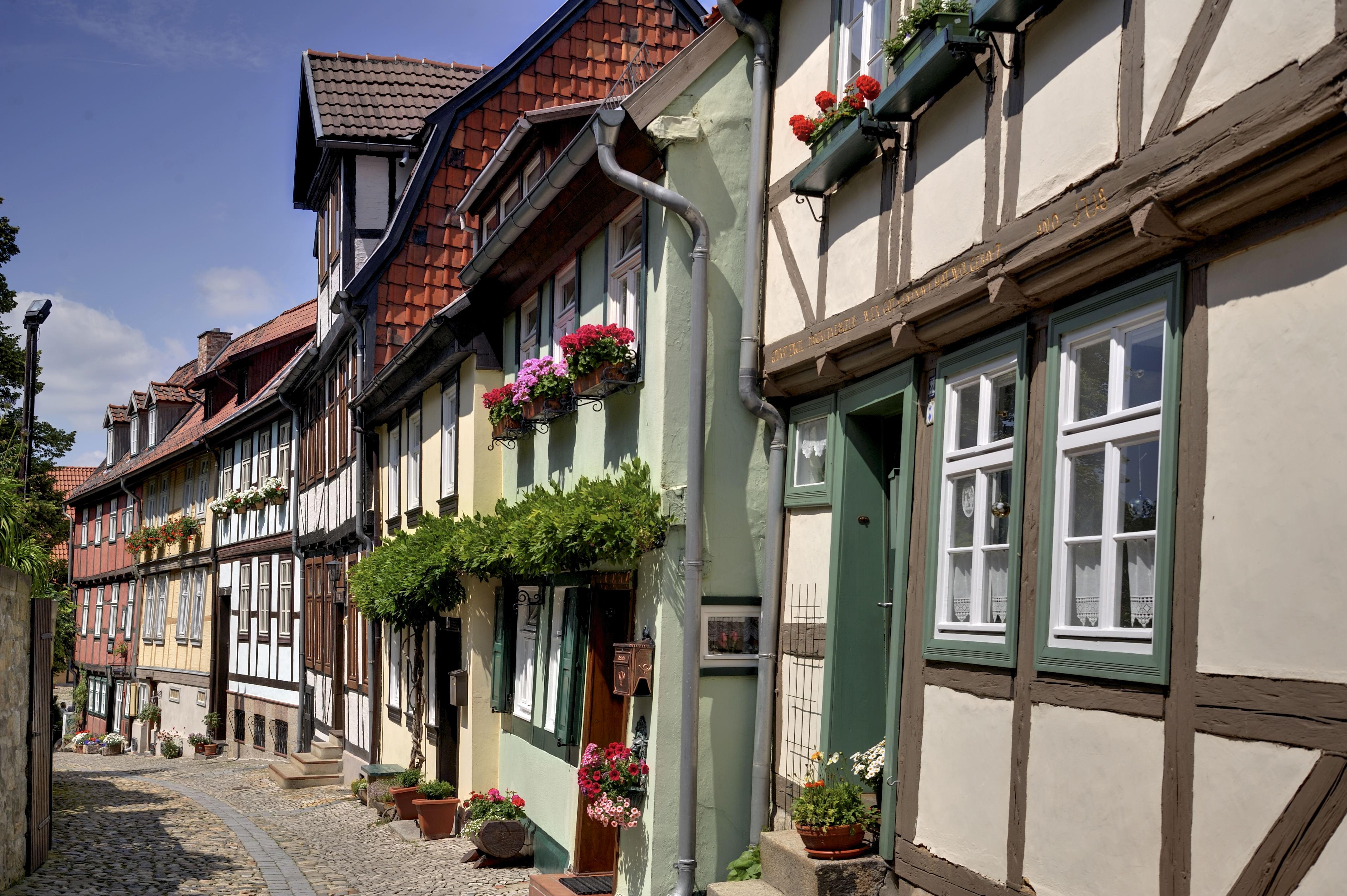Schlossberggasse, Quedlinburg (Foto: Pressestelle der Stadt Quedlinburg)