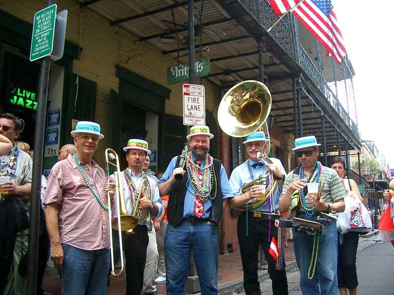 New Orleans Dixielandband