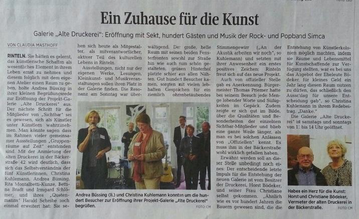 Pressetext SZ zur Eröffnung
