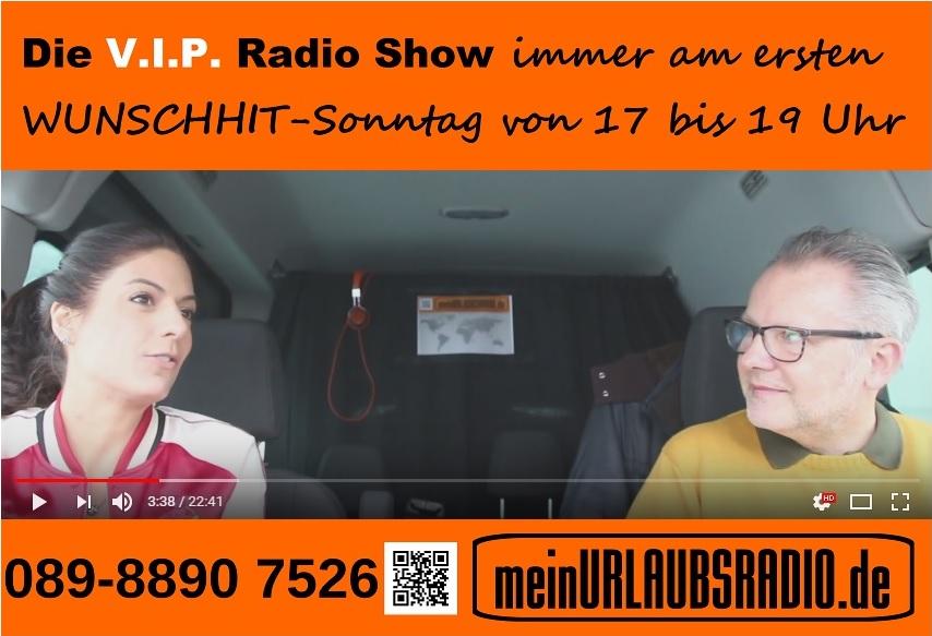 Michael Wolfgang Riehl für Die V.I.P. Radio Show mit Agnes Zimmermann