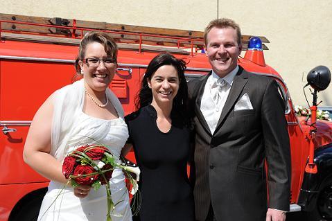 Hochzeit in Kronau