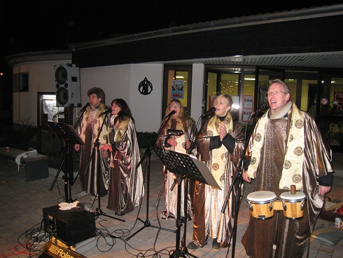 """Five for Fun"" im Gospel Outfit - Weihnachtsmarkt in Riedrode"