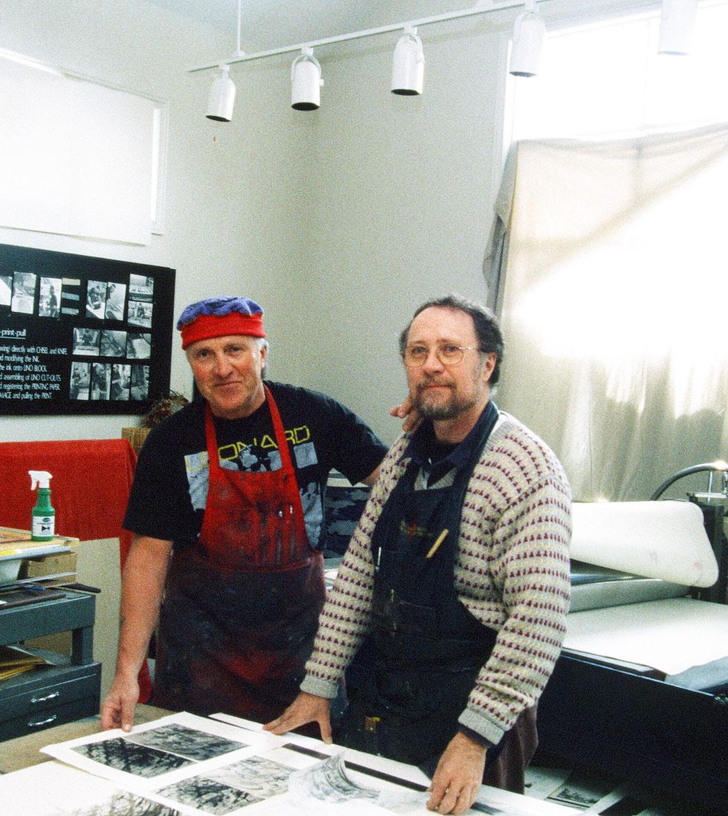 Johann James Feught und Keith Howard