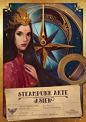 Anthologie: Steampunk Akte Asien