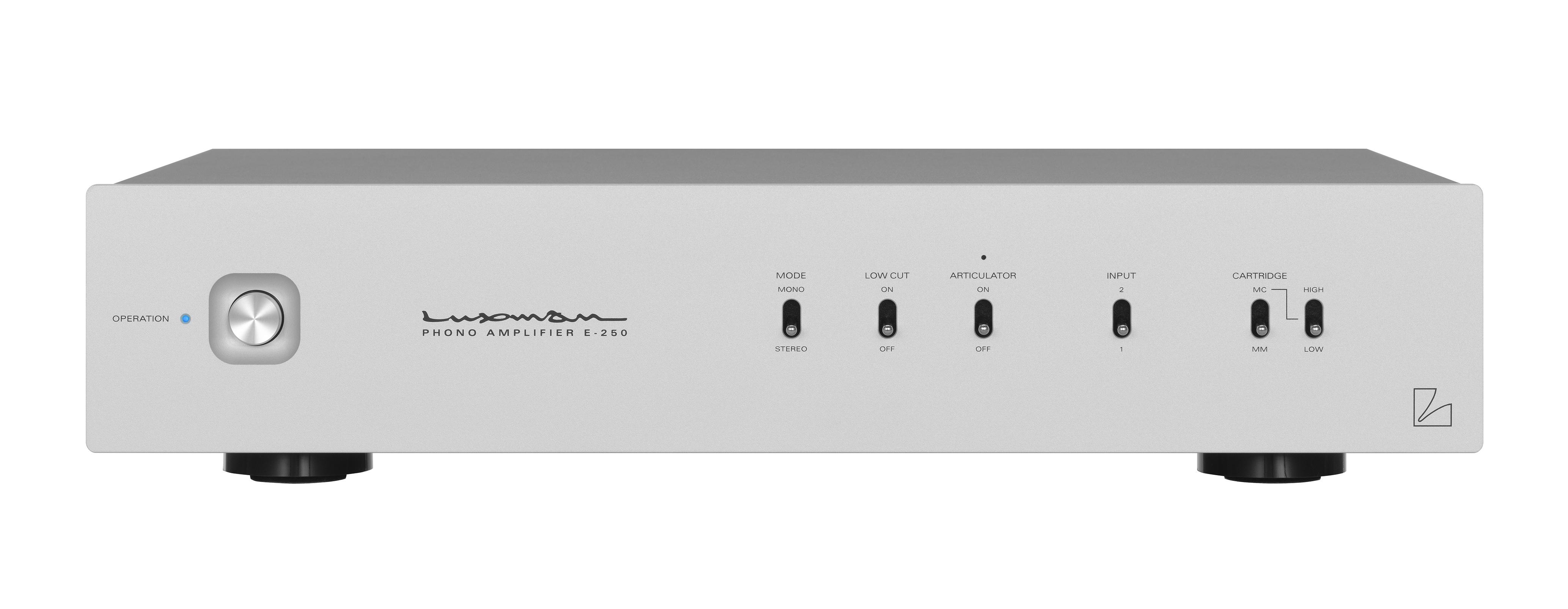 Luxman E250 Phonovorstufe der feinsten Art in der Vorführung