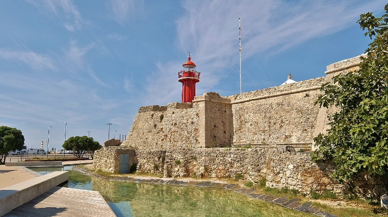 Das Fort in Figueira de Foz
