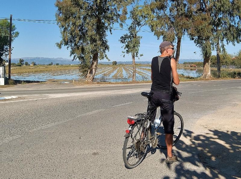 Wir durchstreifen das Ebrodelta mit dem Fahrrad