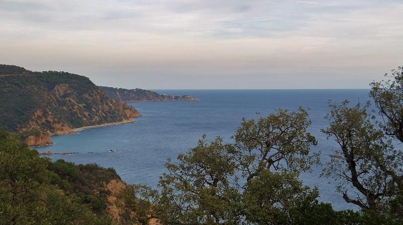 Wunderschöne Ausblicke auf die Costa Brava