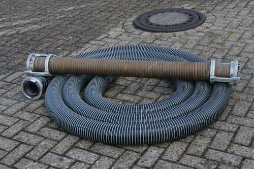 A-Saugschlauch 10m (DN110) eine Spende vom Förderverein