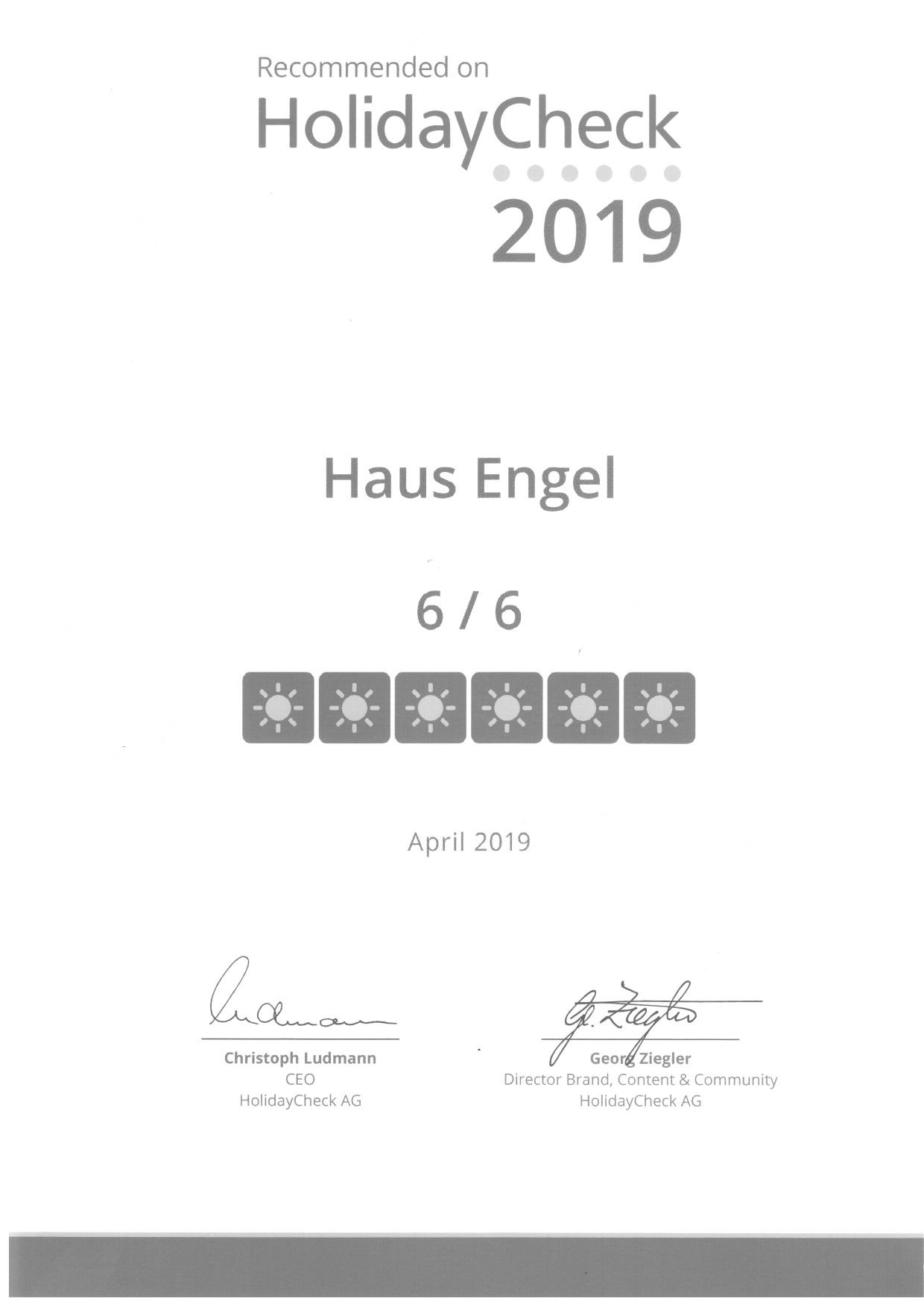 Holiday Check Award 2019