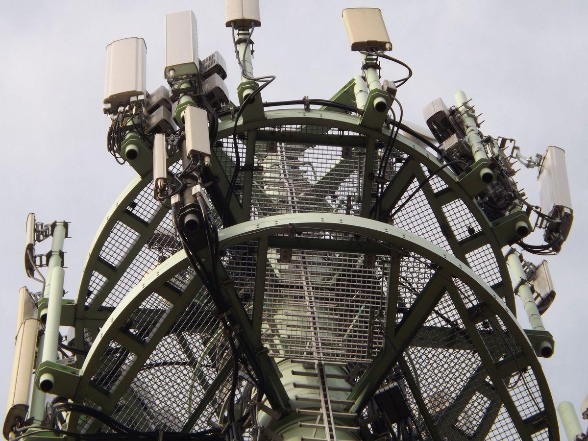 Mobilfunk, 5G Funkturm