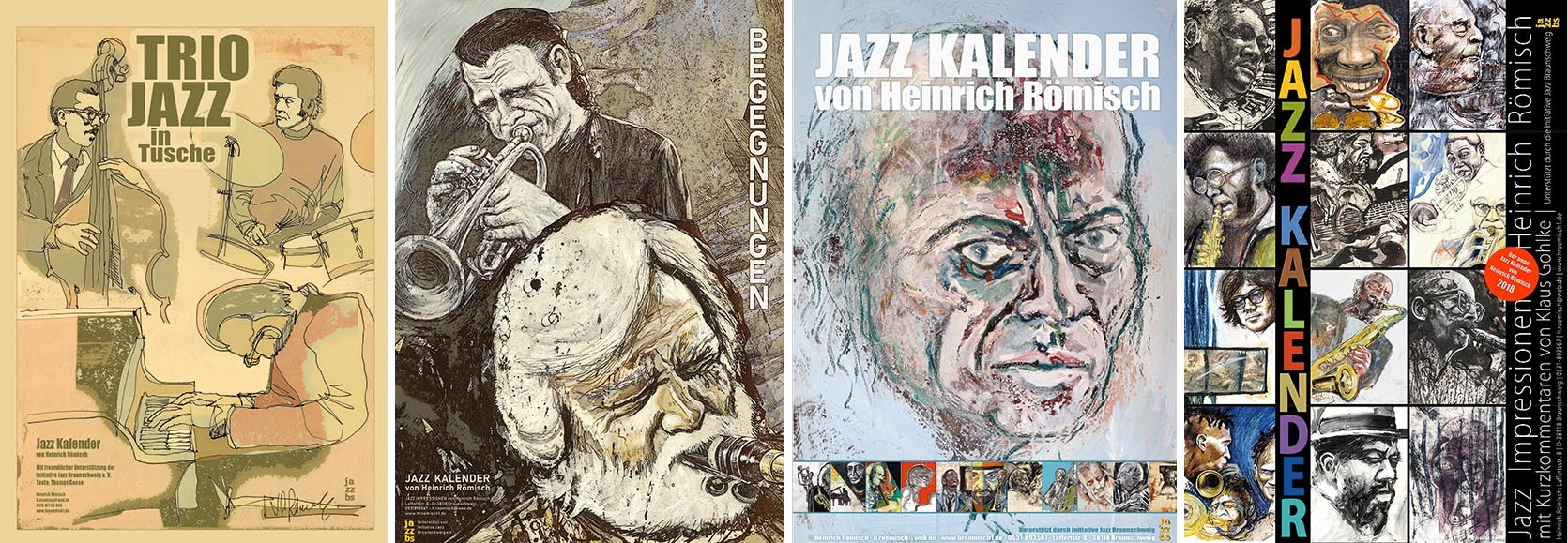 Jazz Kalender von Heinrich Römisch