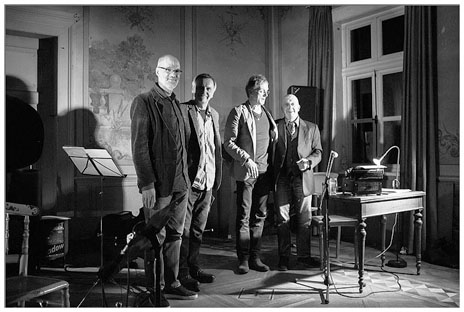 Elmar Vibrans, Heinrich Römisch, Walter Kuhlgatz, Tilman Thiemig (v.l.n.r) - Foto: A. Stuck