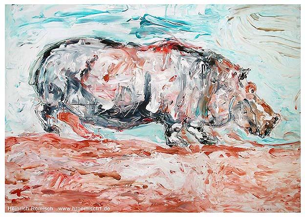 Tierische Ausstellung - Uschi mit dem roten Strumpf