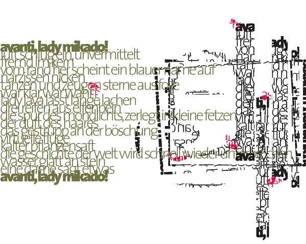 Avanti, Lady Mikado! Grafik Nr.4
