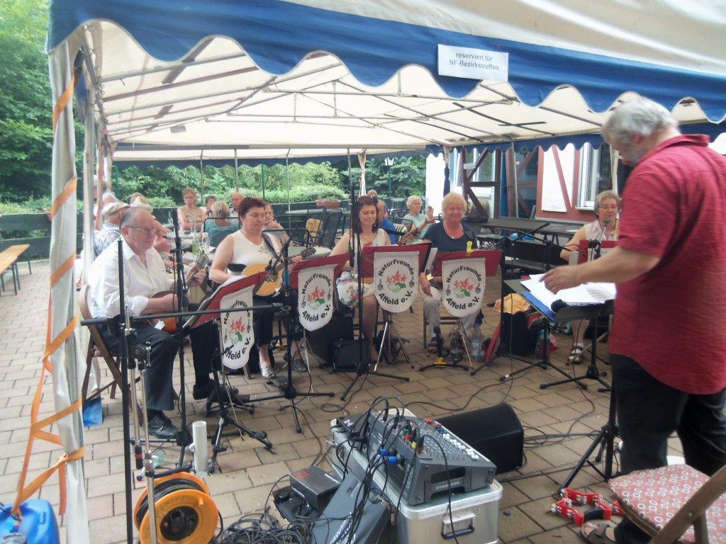 Lönsfest bei der Deisterhütte 20.07.14