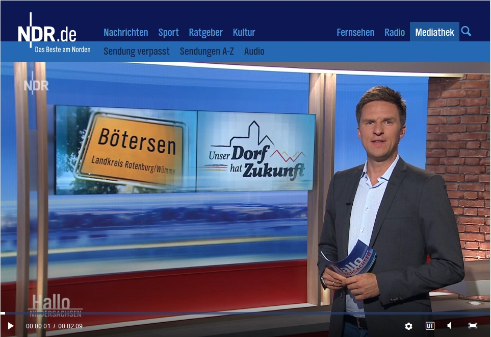 Bericht im NDR