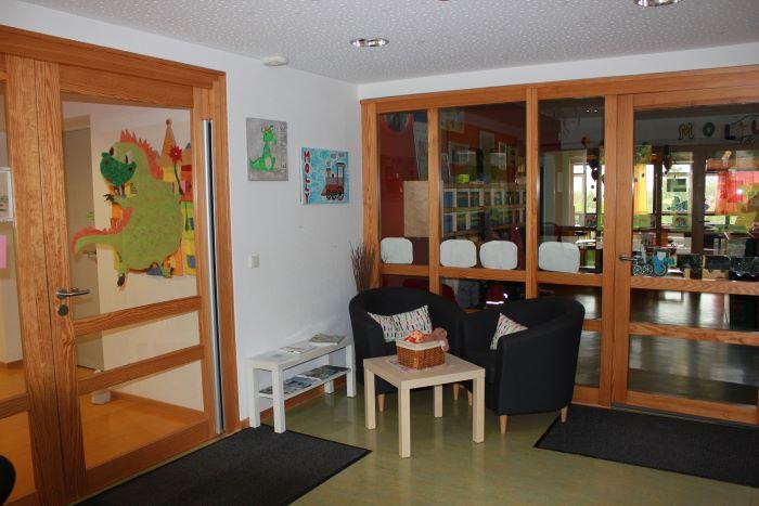 Eingangsbereich Krippe