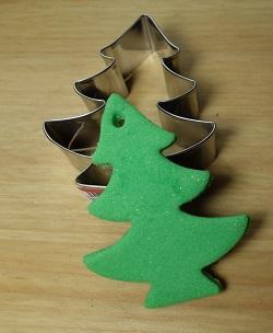 emporte-pièce 'sapin de Noël', acier inoxydable, dimension 8 cm, 2,50 €