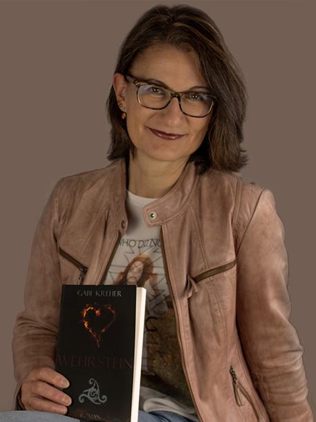 """Gabi Kreher und ihr Roman """"Wehrstein"""""""