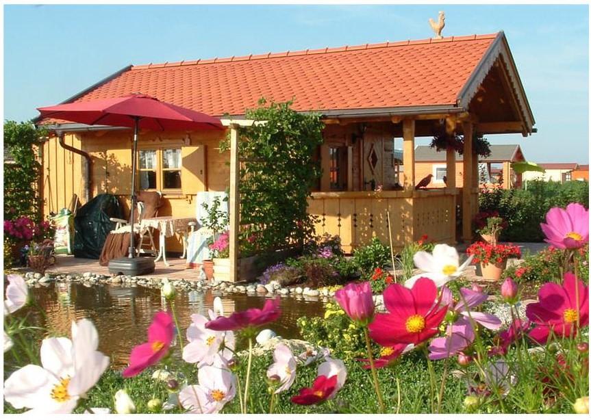 Gartenhaus in unserem Verein