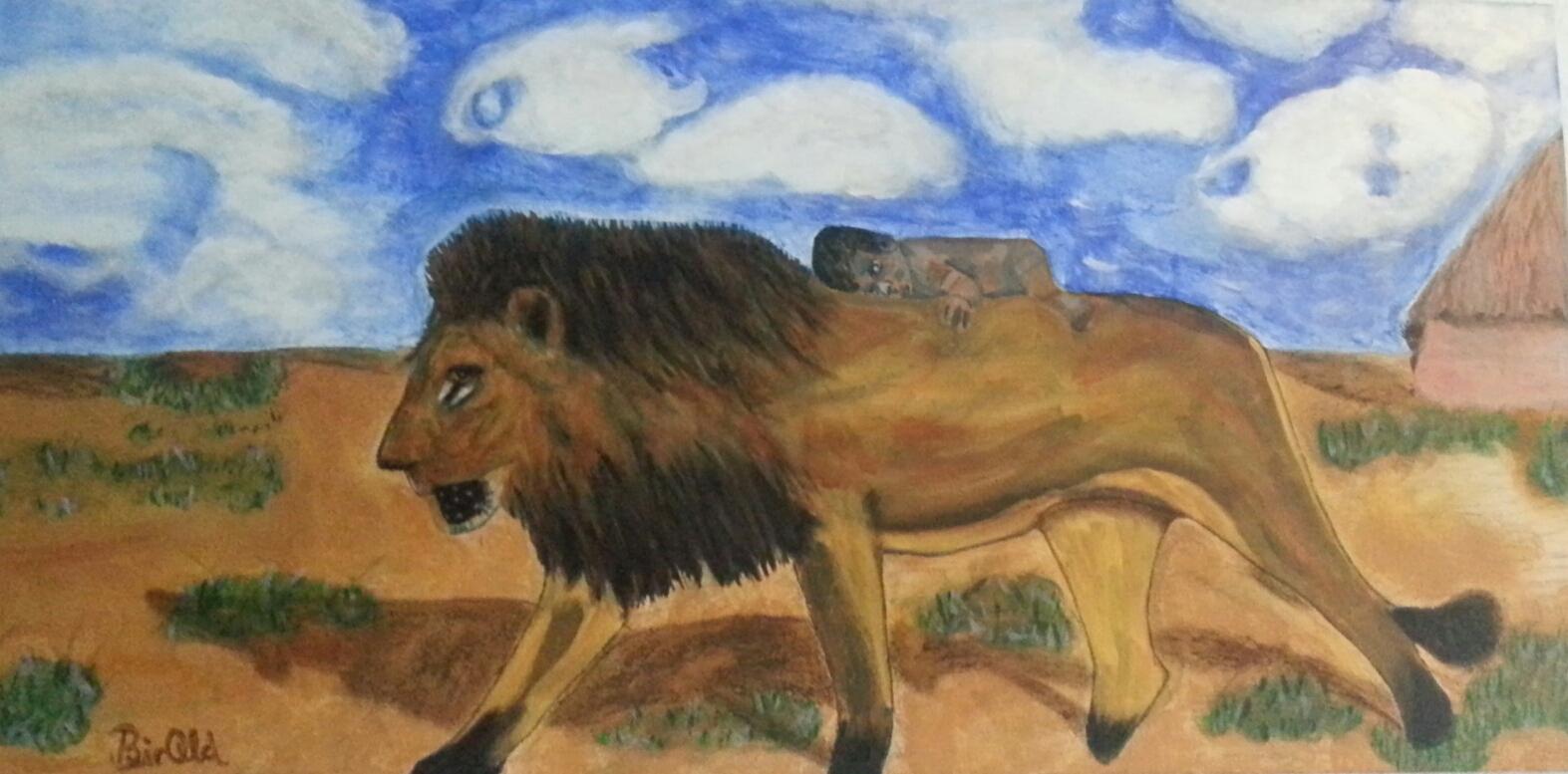 Dhakyra, Nuka und der Löwe