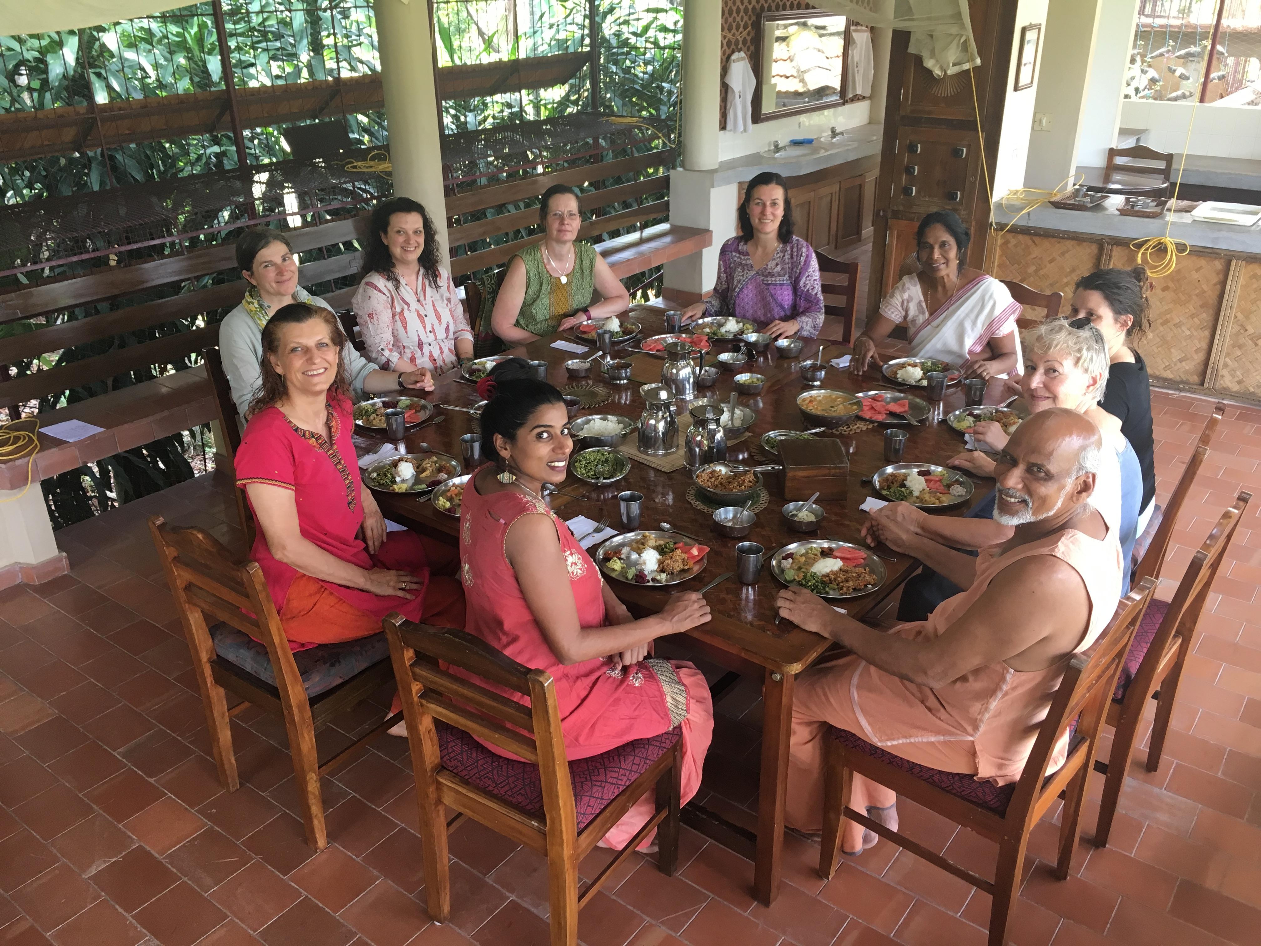...das zusammen Essen und geniesen all dieser köstlichen Speisen war besonders schön und einmalig